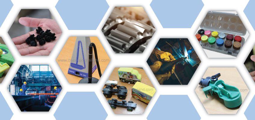พื้นฐานในการฉีดพลาสติก การฉีดพลาสติก คือ กระบวนการผลิตชิ้นงาน