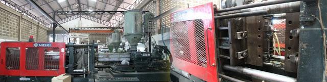เครื่องฉีดพลาสติก (Injection Moulding Machine) ฉีดพลาสติก